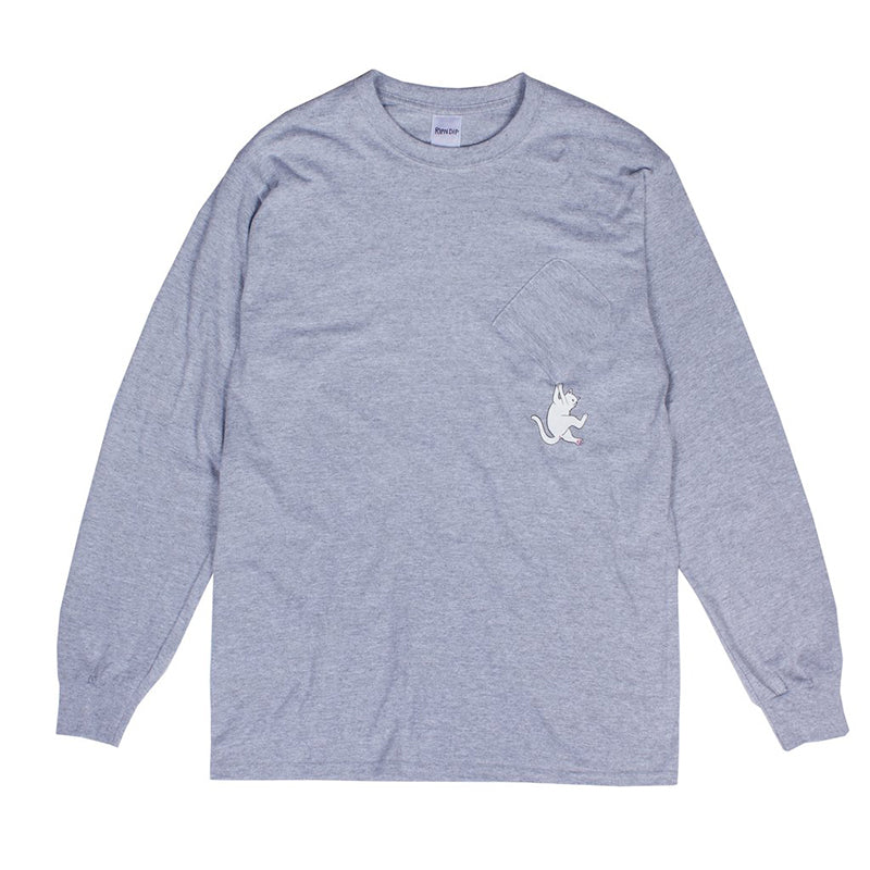 Hang In There L/S (Athletic Heather)