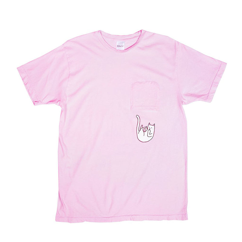 Falling For Nermal Pocket Tee (Pink)
