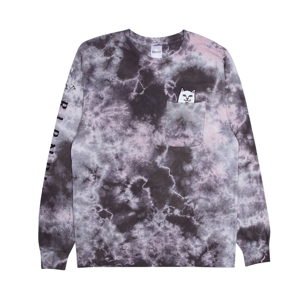 Lord Nermal Pocket L/S (Light Pink Mineral Wash)