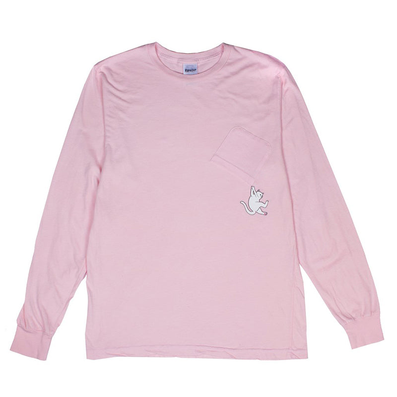 Hang In There L/S (Pink)