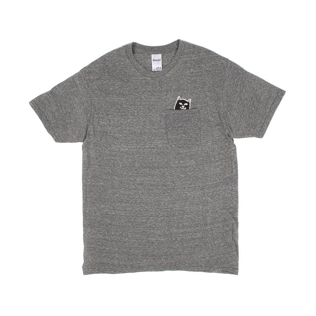 Jermal Pocket Tee (Athletic Grey)