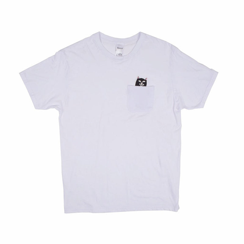 Lord Jermal Pocket Tee (White)