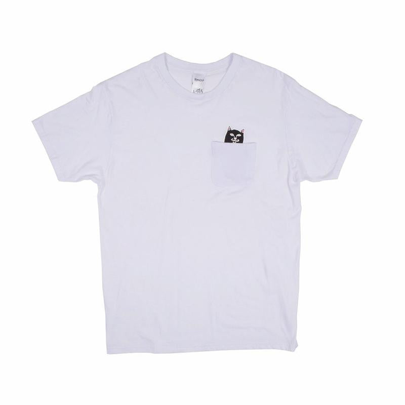 Jermal Pocket Tee (White)