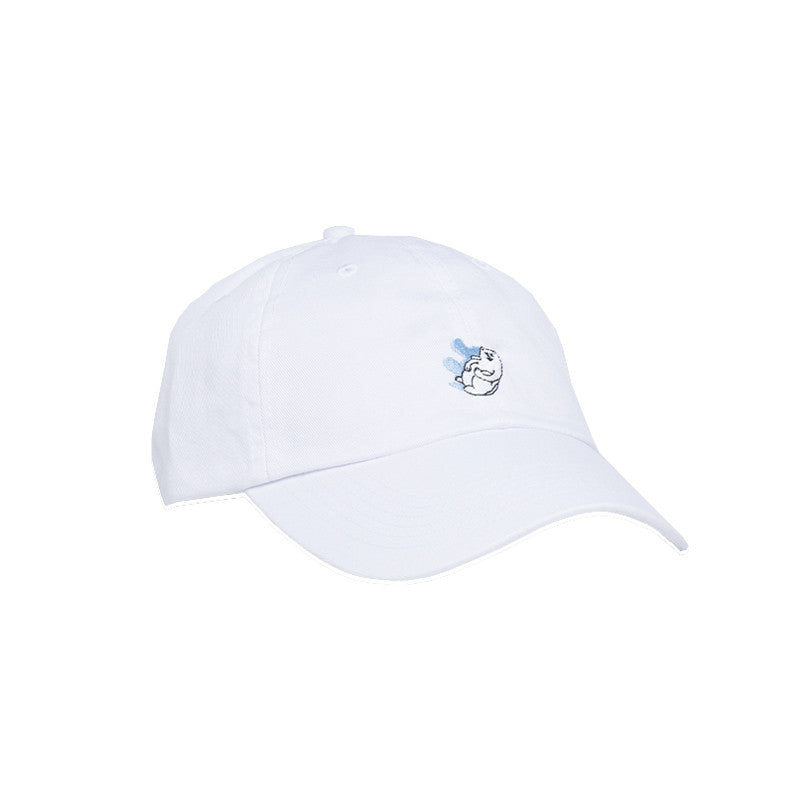 Canonball Nerm Dad Hat (White)