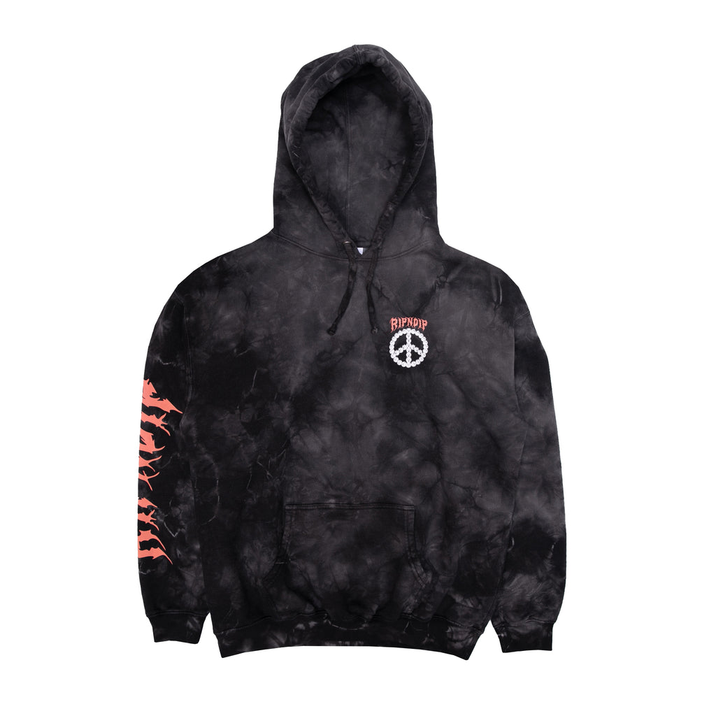 Expressions Hoodie (Black Lightning Wash)