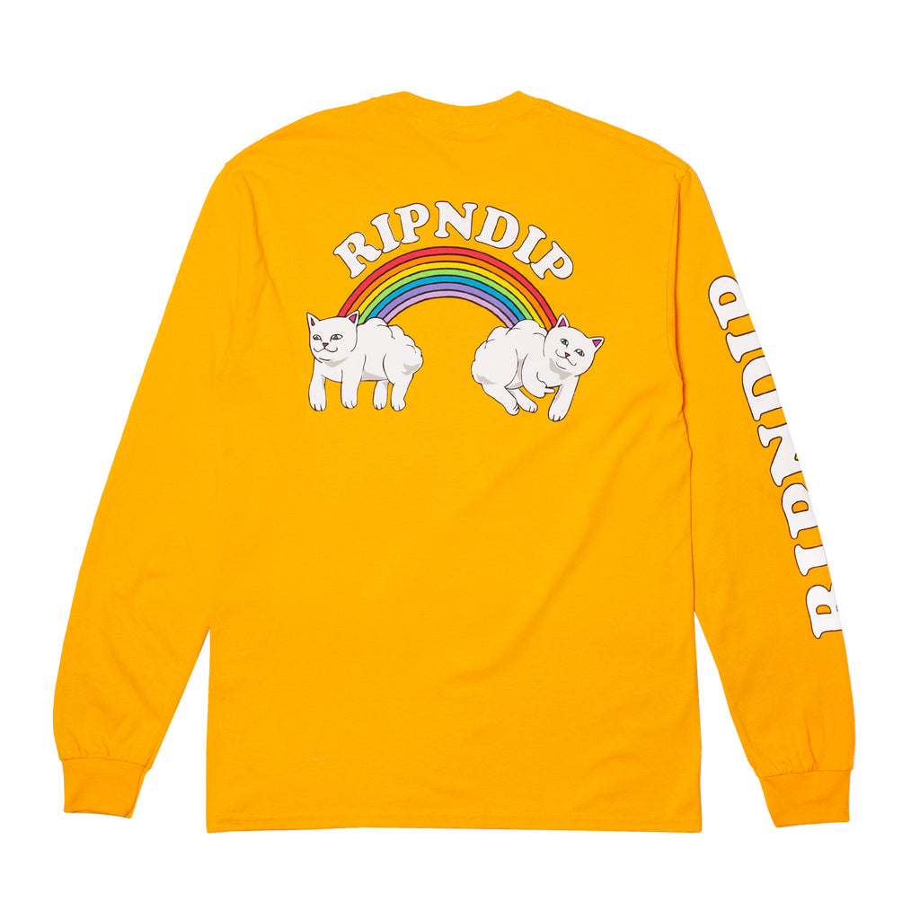 Double Nerm Rainbow L/S (Gold)