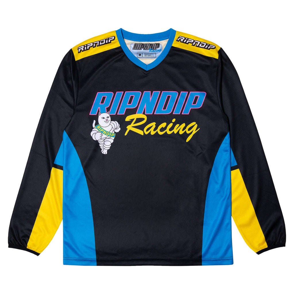 Racing Team L/S Jersey (Black)