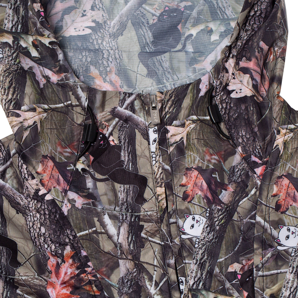 Nerm & Jerm Packable Anorak Jacket (Tree Camo)