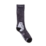 Lord Nermal Socks (Black Lightning)