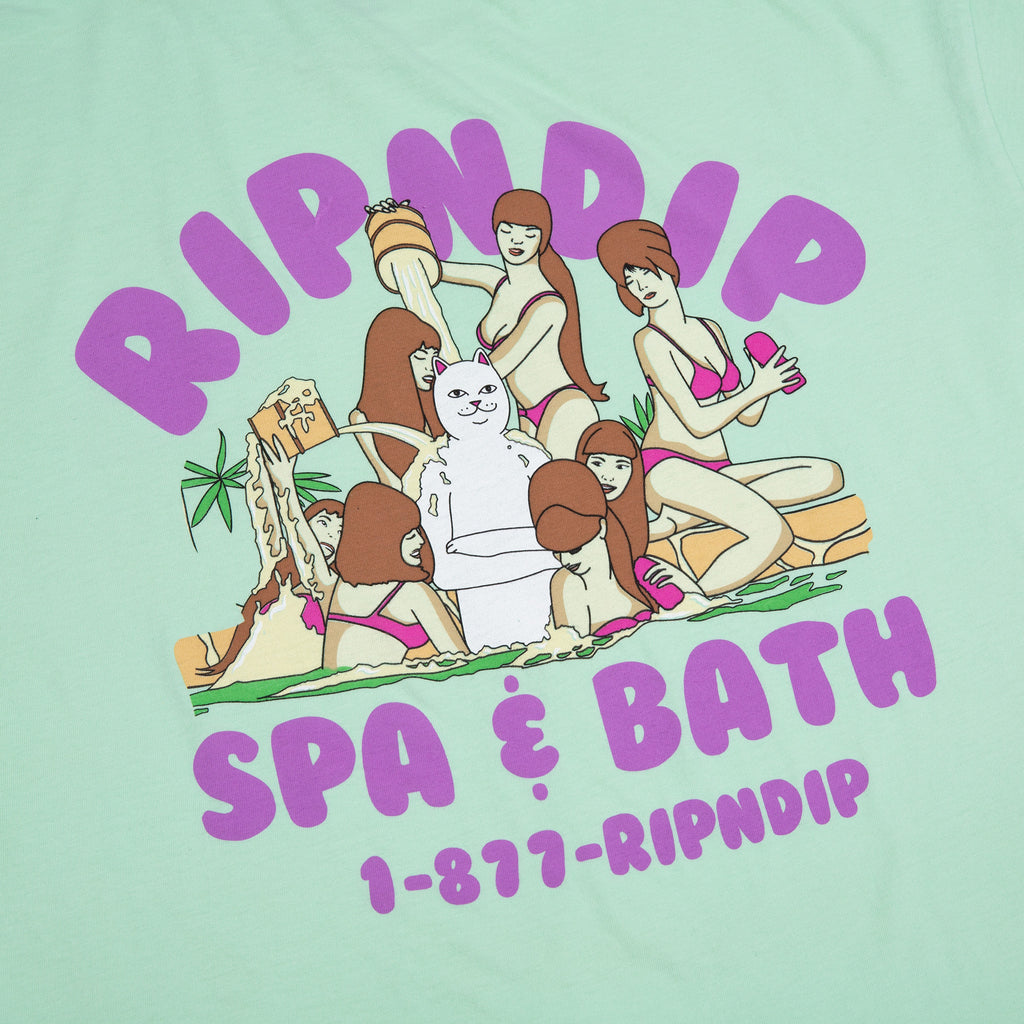Spa Day Tee (Light Mint)