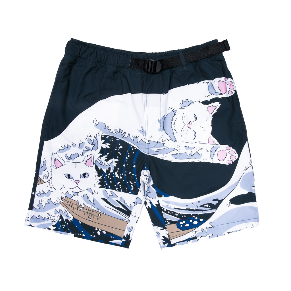 Great Wave Swim Shorts (Navy)