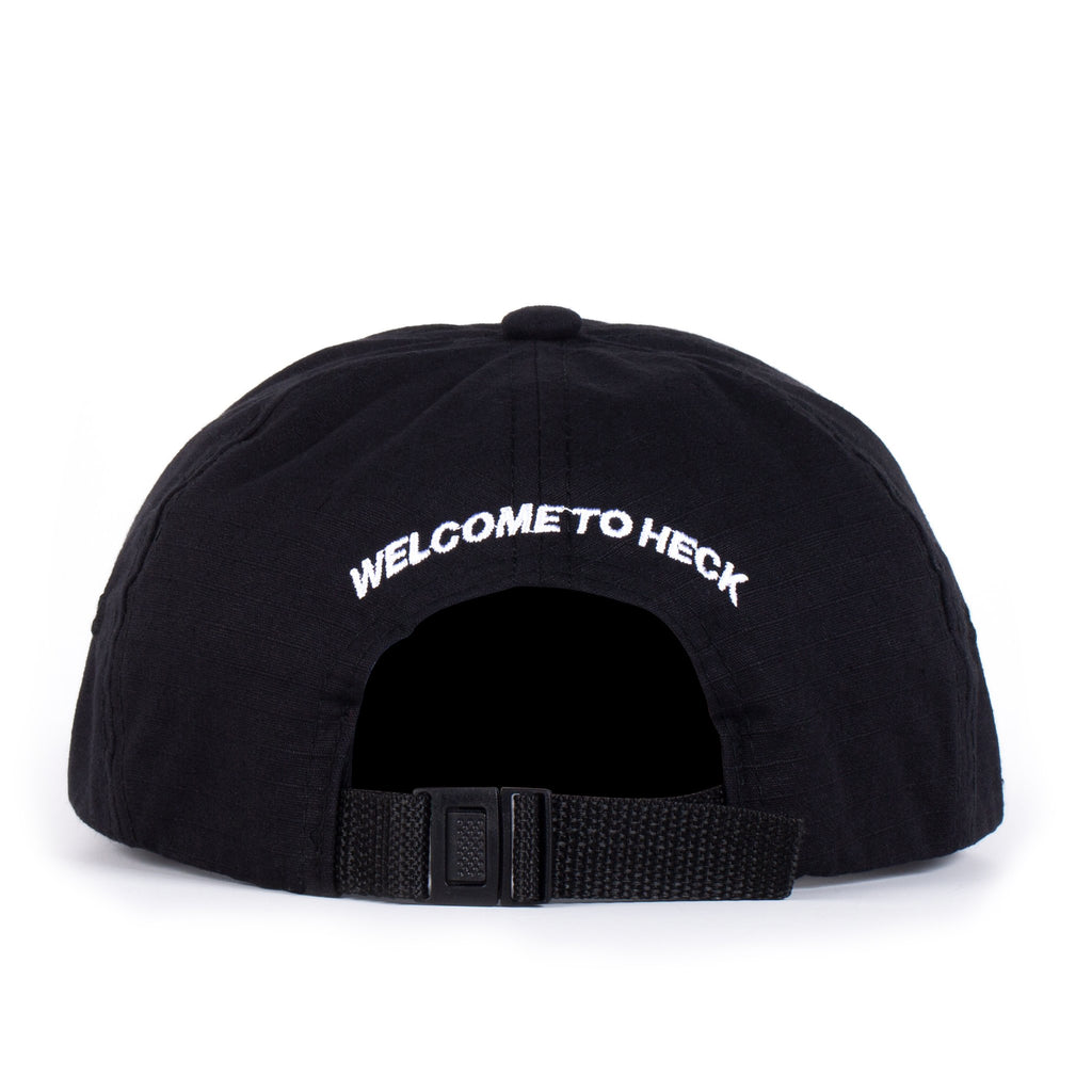 Welcome To Heck Strapback (Black)