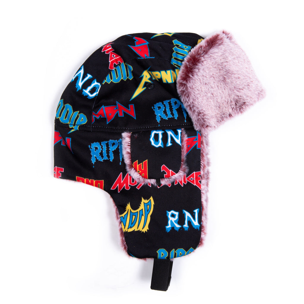 Rock N Nerm Aviator Hat (Black)