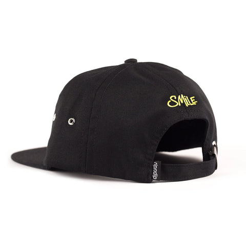 Smile Alien Six Panel (Black)