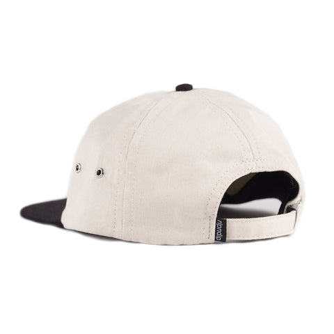Holy Lord Nermal Six Panel (Cream / Black)