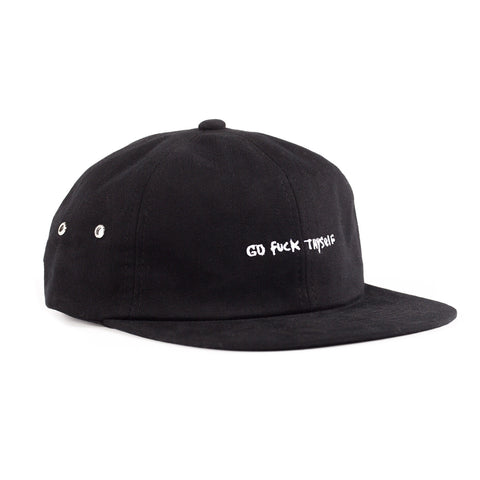 Go Fuck Thyself Six Panel (Black)