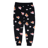 Butterfly Sweat Pants (Black)