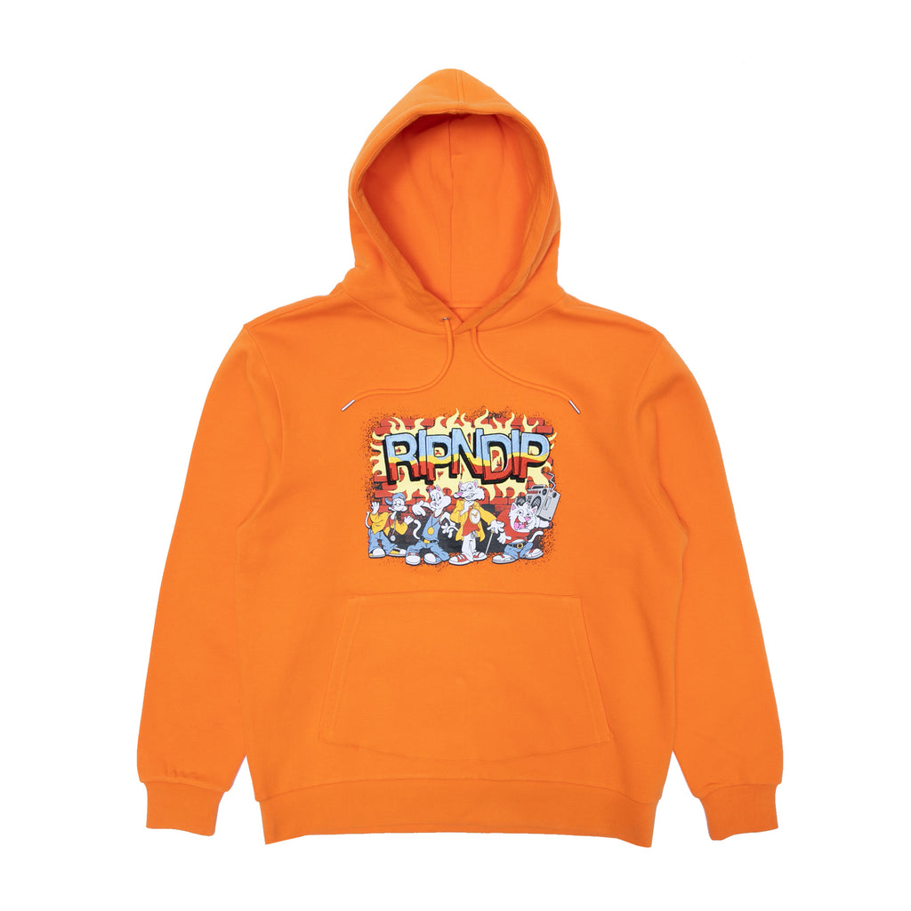 Looney Gang Hoodie (Orange)