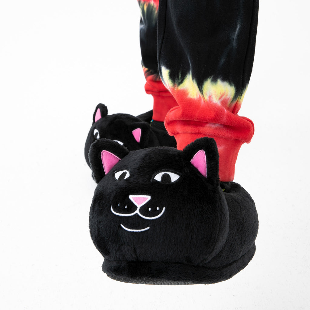 Lord Jermal Slippers (Black)