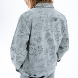Sharpie Denim Jacket (Light Denim Wash)