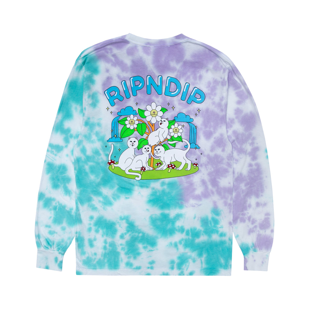 Magical Place Long Sleeve (Lavender/Mint Dye)