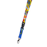 Catch Em All Lanyard (White)