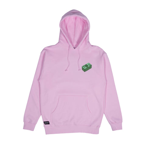 Money Talks Hoodie (Light Pink)