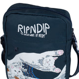 Great Wave Shoulder Bag (Navy)