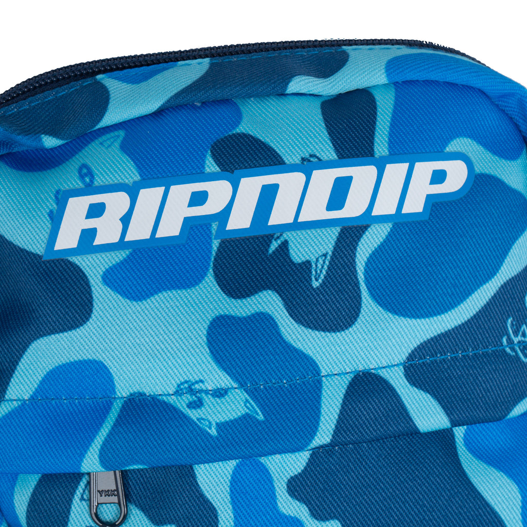 Nerm Camo Shoulder Bag (Blue Camo)
