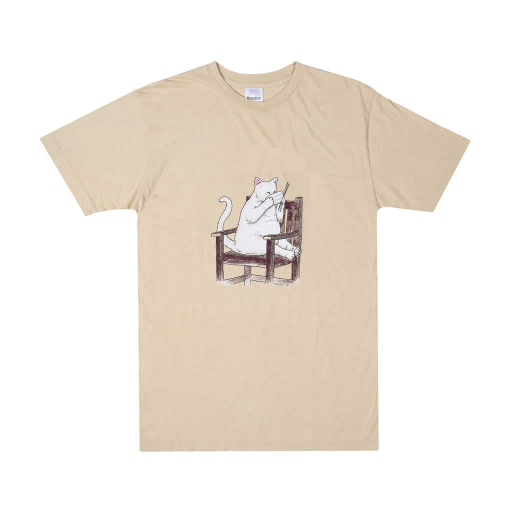Take Out Tee (Tan)