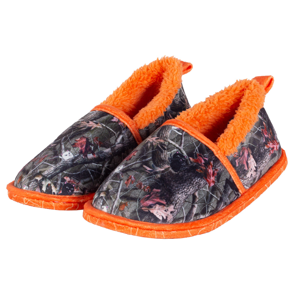 Nerm & Jerm House Slippers (Tree Camo)