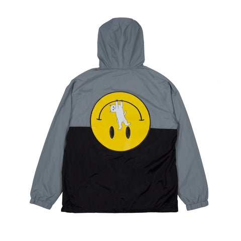 It Won't Be Ok Anorak Jacket (Black / Gray)