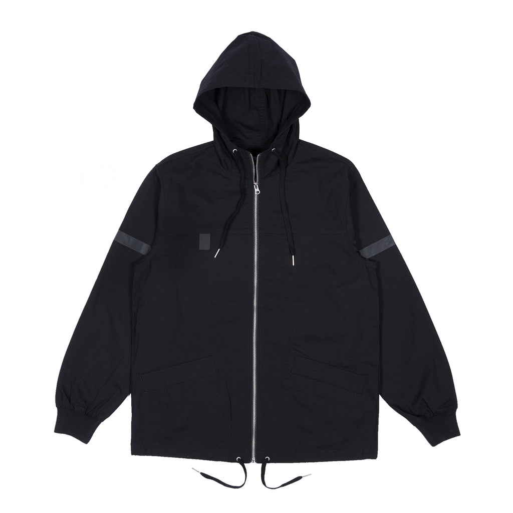 Inferno Cotton Fisherman Jacket (Black)