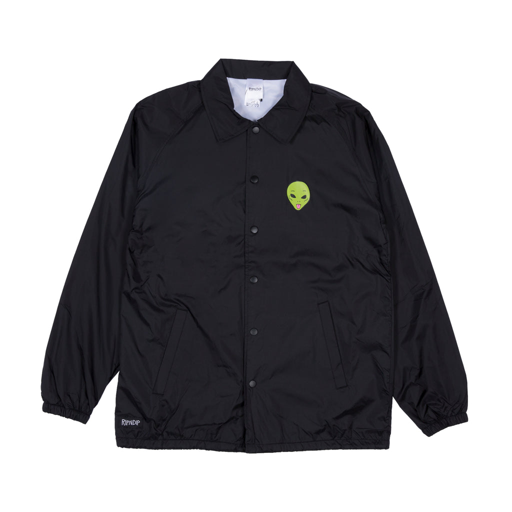 We Out Here Coaches Jacket (Black)