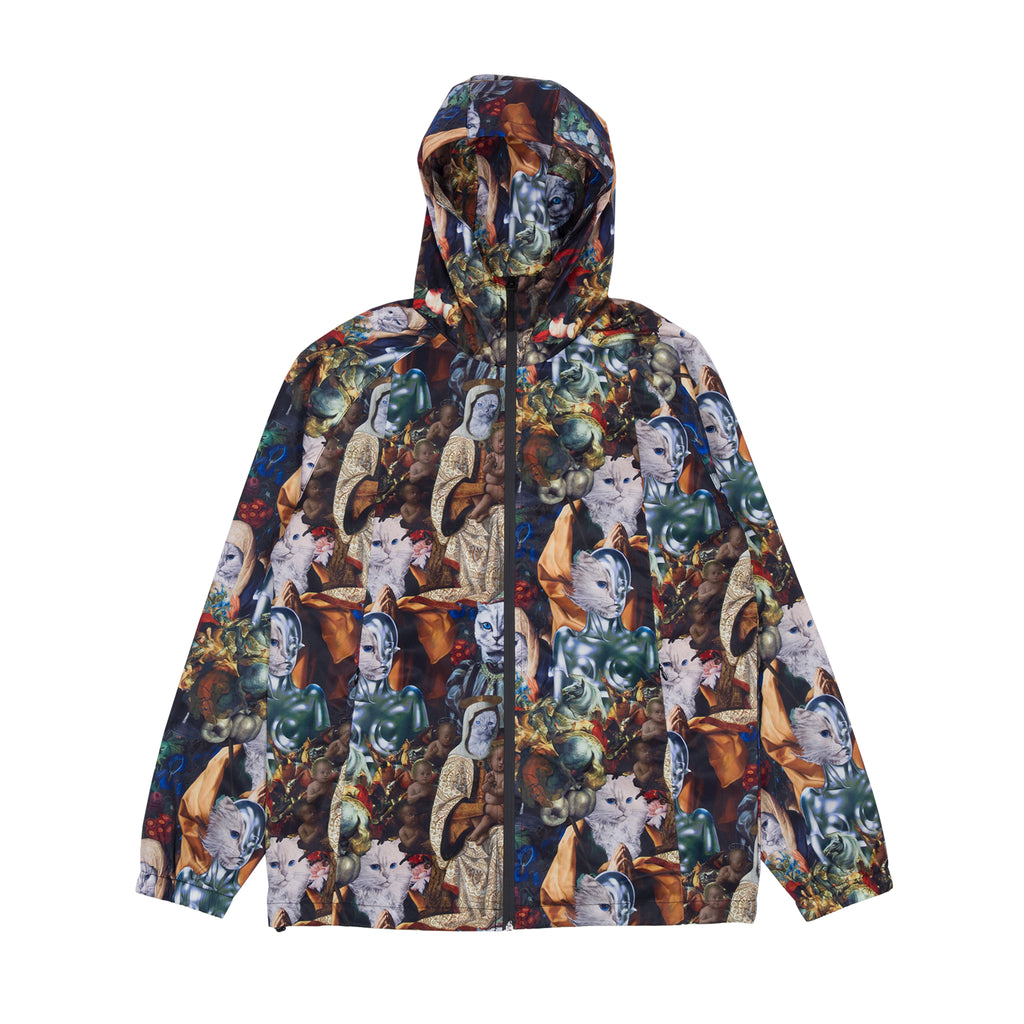 All Products Ripndip Jaket Parka Cewek Best Seller Nermaissance Hooded Anorak Jacket Multi