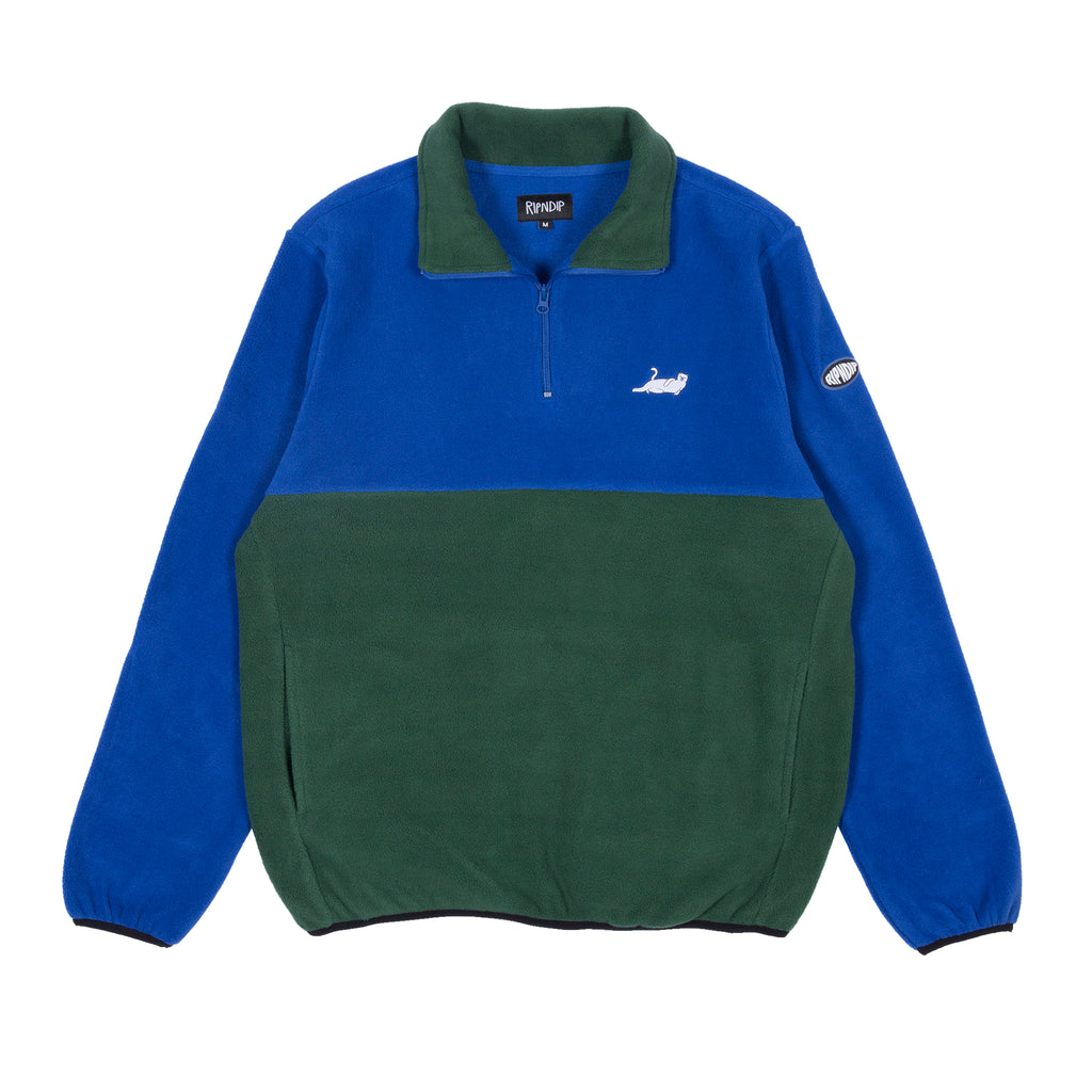 Castanza 3/4 Zip Up (Navy / Hunter Green)