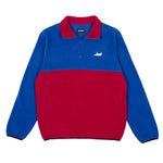 Castanza 3/4 Zip Up (Blue / Red)
