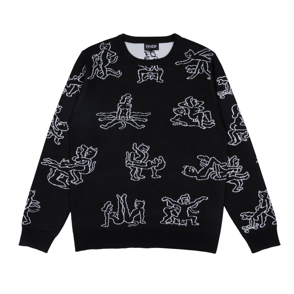Nermasutra Knit Sweater (Black)