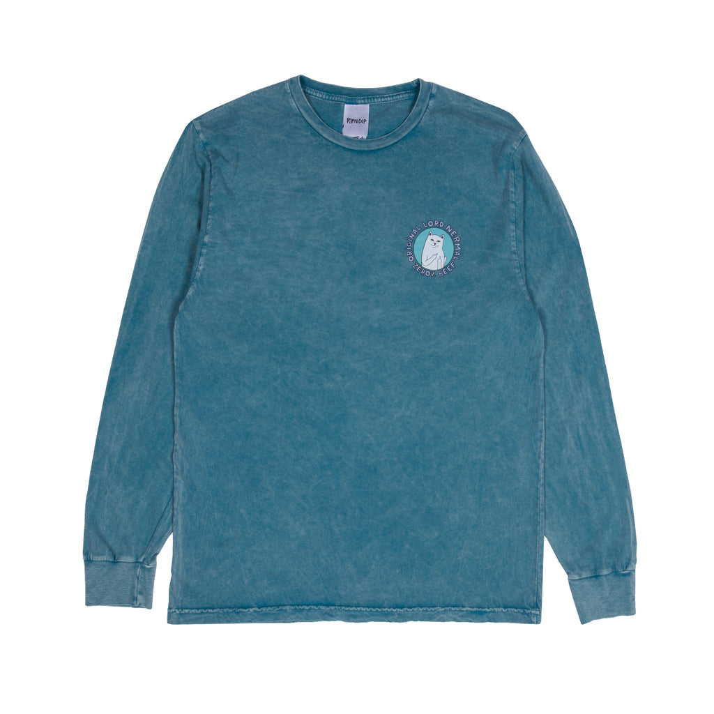 Prime Cut L/S (Teal Mineral Wash)
