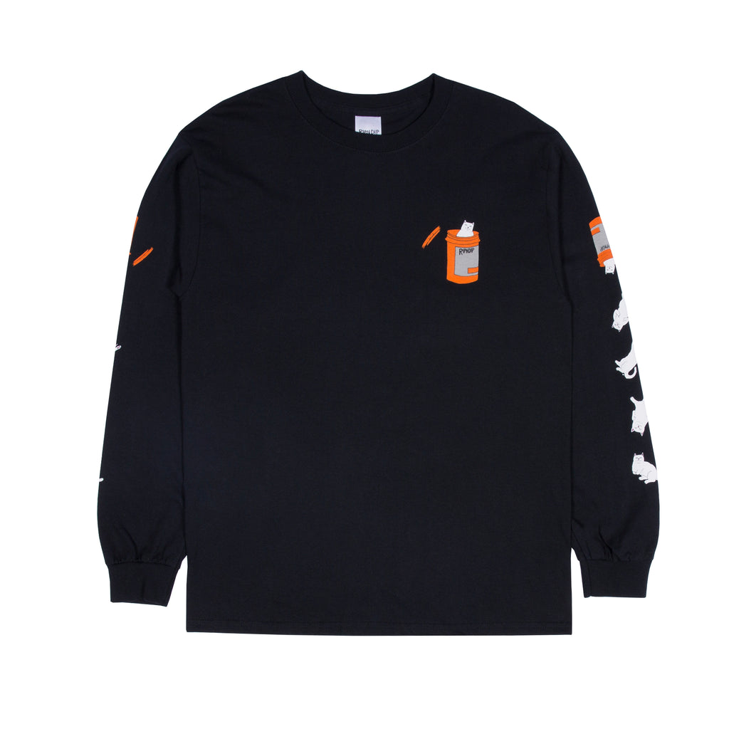 Nermal Pills L/S (Black)