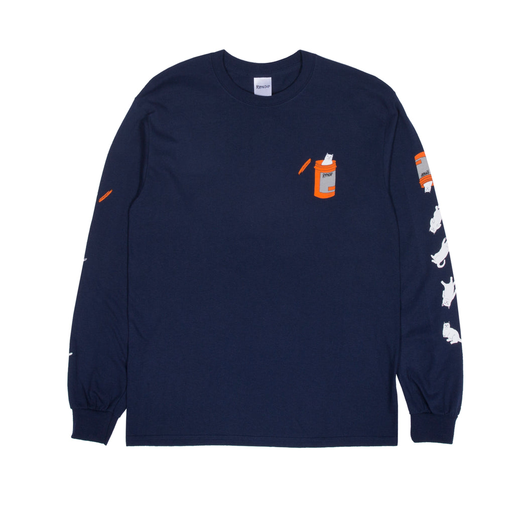 Nermal Pills L/S (Navy)