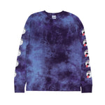 Pill L/S (Blue / Purple Acid Wash)