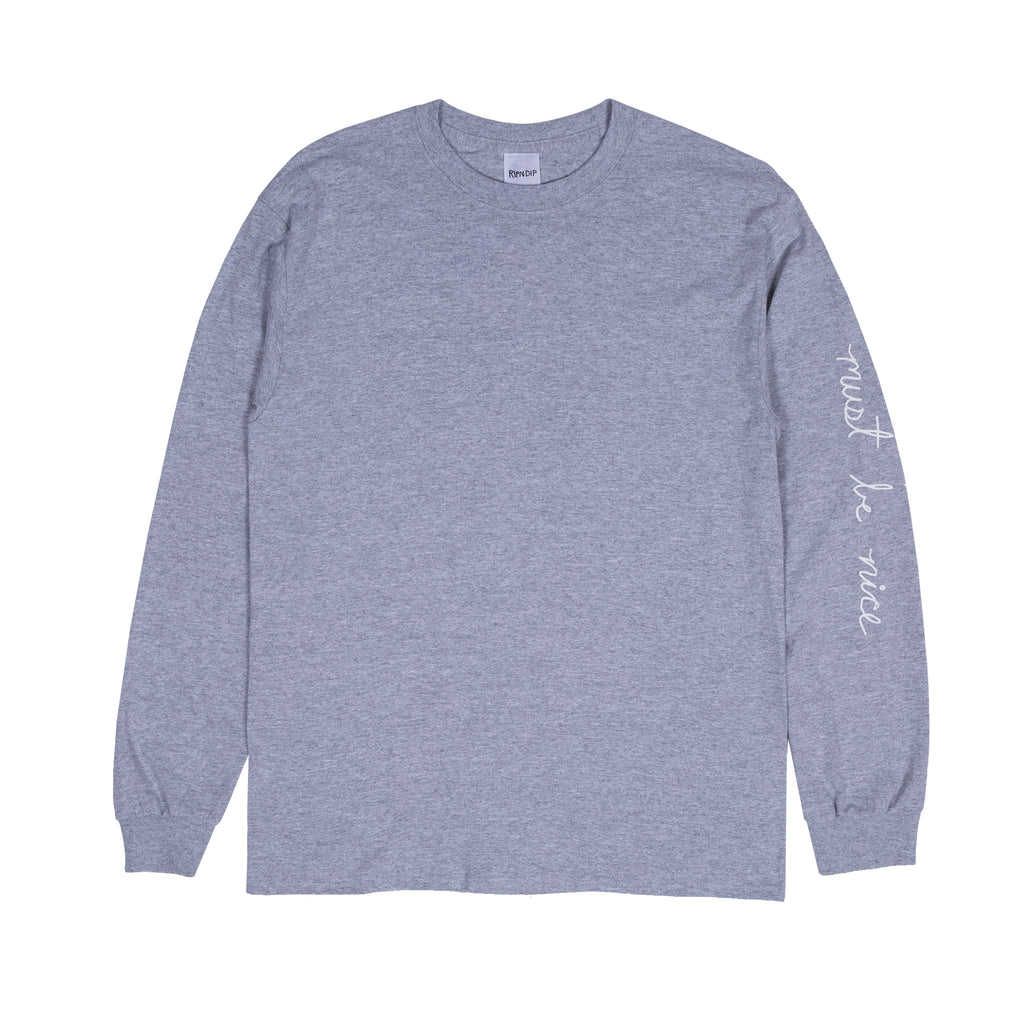 Romantic Nerm L/S (Heather Gray)