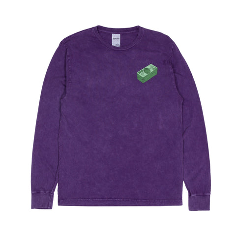 Money Talks L/S (Purple Mineral Wash)