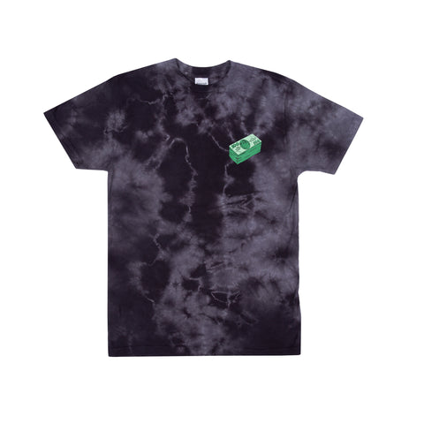 Money Talks Tee (Black Cloud Wash)
