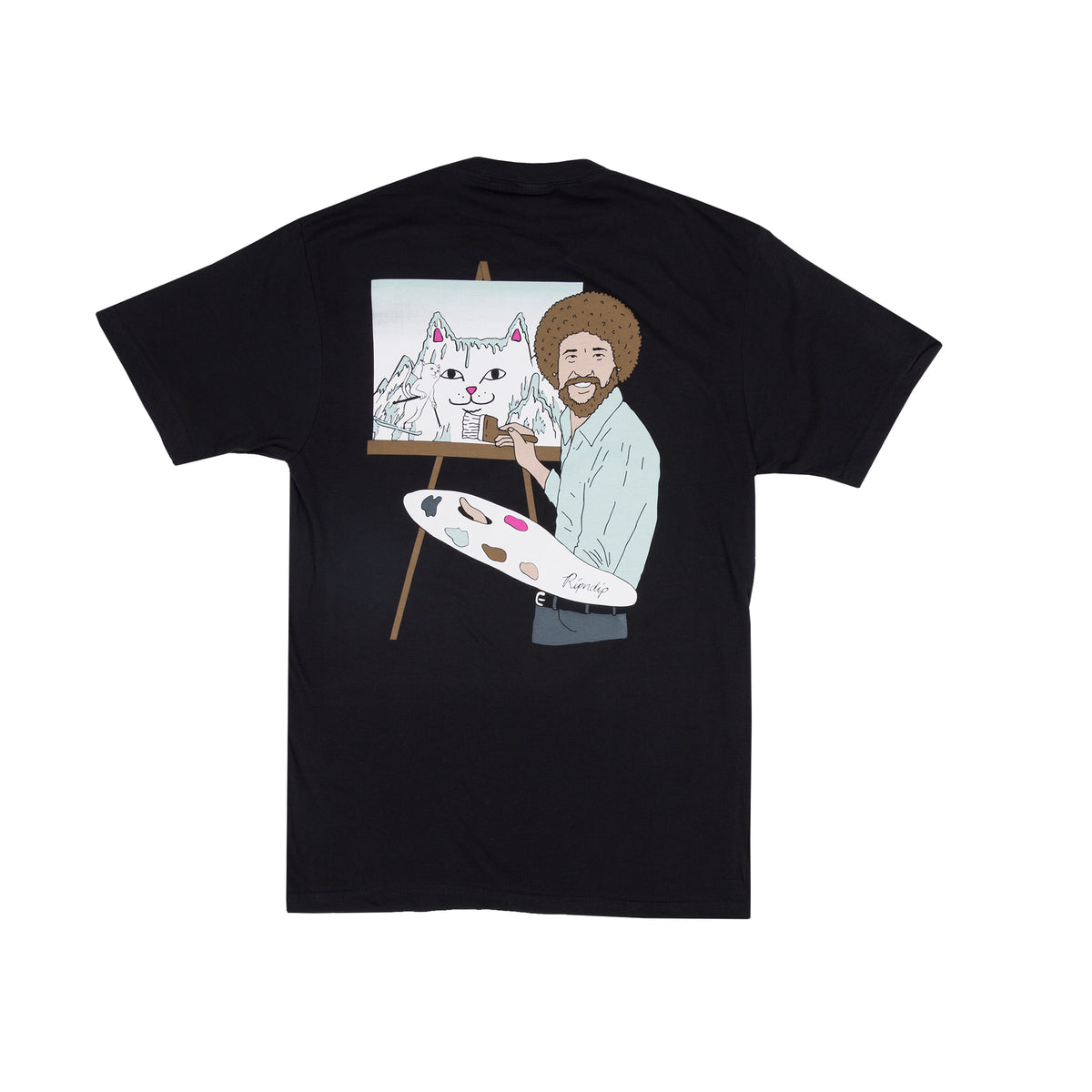 Beautiful Mountain Tee Black Ripndip