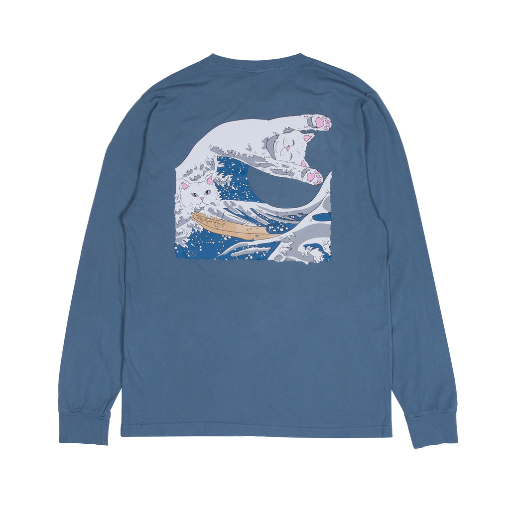Great Wave L/S (Slate)