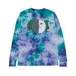 Money Talks L/S (Green / Purple Acid Wash)
