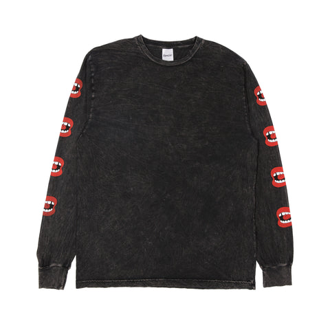 Puff L/S (Black Mineral Wash)