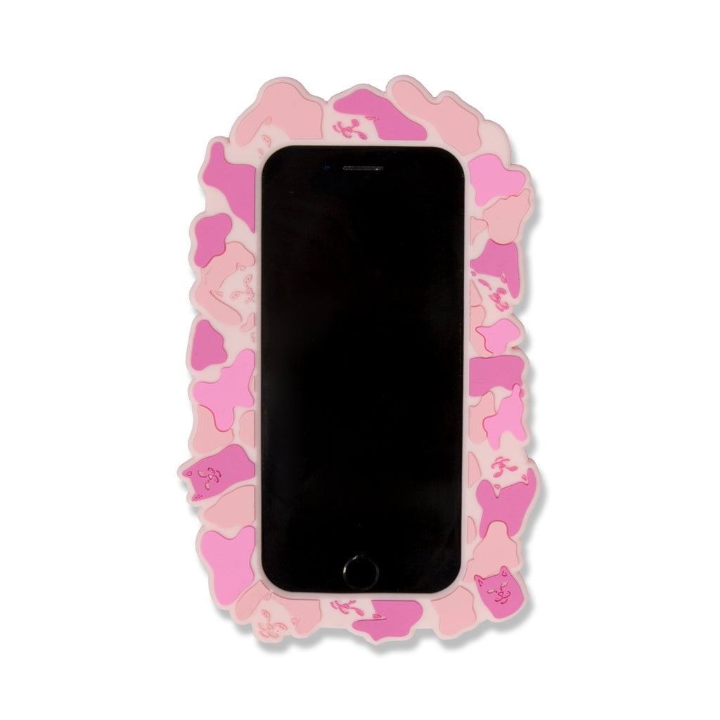 Nerm Camo iPhone Case (Pink)
